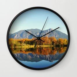 Mt Si Wall Clock