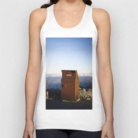 miles davis Tank Tops featuring Miles high trash can by Katie Jean Images