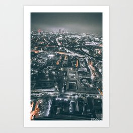 As Far As The Eye Can See Art Print