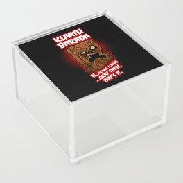 Every Single Little Tiny Syllable Acrylic Box