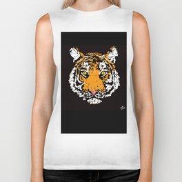 Tiger Face Biker Tank