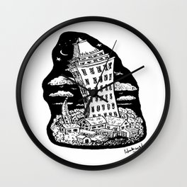 High Rise Wall Clock