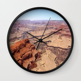 Awesome Grand Canyon View Wall Clock