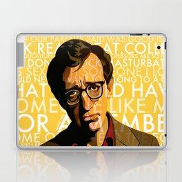 Woody Allen - Annie Hall I Laptop & iPad Skin