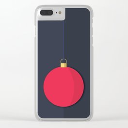 Christmas Globe - Illustration Clear iPhone Case