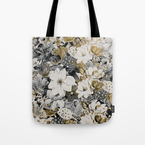 FLORAL PATTERN 44 Tote Bag