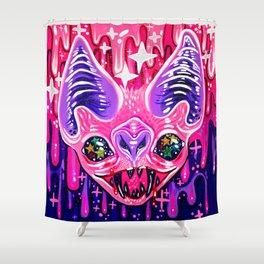 Glitterbat Shower Curtain