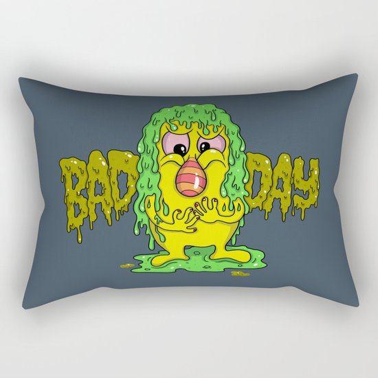 Bad Day Rectangular Pillow