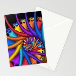 spiral art -e- Stationery Cards