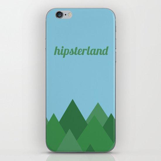 Hipsterland iPhone & iPod Skin