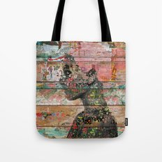 Inner Nature (Profile of Woman) Tote Bag