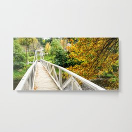 Warburton Swing Bridge, Victoria Metal Print