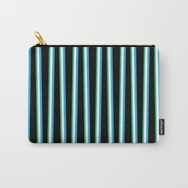 Between the Trees Black, Blue & Green #312 Carry-All Pouch