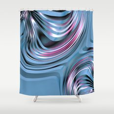 Abstract 348 Shower Curtain