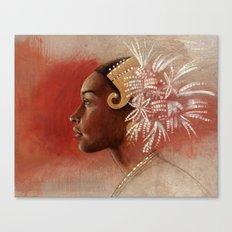 Tembleques  Canvas Print