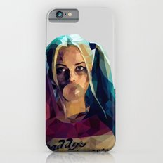 Daddy's Monster - Harley Quinn Low Poly Art Slim Case iPhone 6