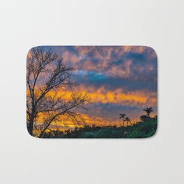 Back Bay Colors at Sunset Bath Mat
