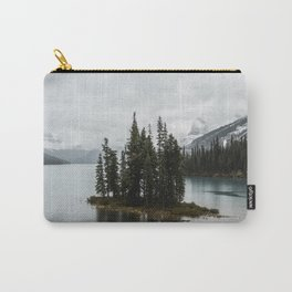 Landscape Maligne Lake Vertical View Carry-All Pouch