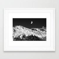 yosemite Framed Art Prints featuring Yosemite by Claude Gariepy