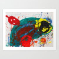 Lego: Contemporary Art Part II Art Print