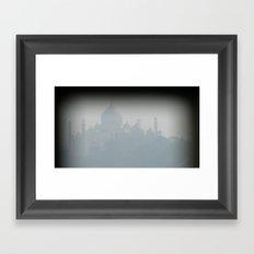 INDIA - The Taj Mahal  Framed Art Print