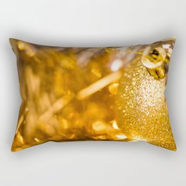 Golden Cheer I Rectangular Pillow