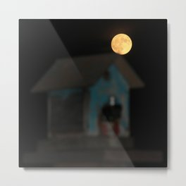 Moon on the Rise Metal Print