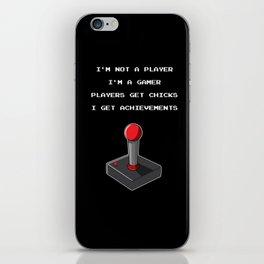 Funny Gamer Achievement Player iPhone Skin