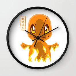 Dragon Fire Wall Clock