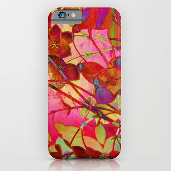 wild floral iPhone & iPod Case