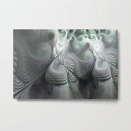 Vert de Gris Metal Print