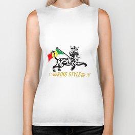 Lion of Judah Biker Tank