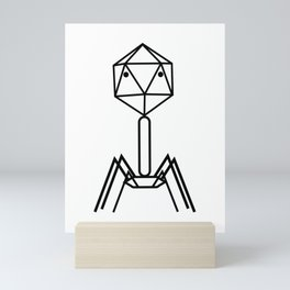 Phage 01_phe Mini Art Print