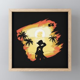 The Pirate King Framed Mini Art Print