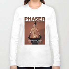Phaser Magazine Cover Long Sleeve T-shirt