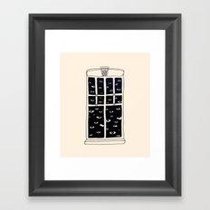 Gozetleme Framed Art Print