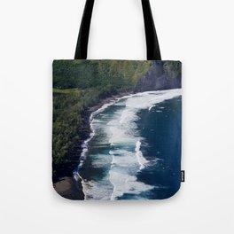 Waipio Valley Beach Tote Bag