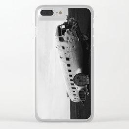DC-3 Wreck II Clear iPhone Case