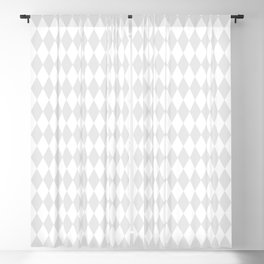 Gray Harlequin Wonderland Pattern C15 Alice in Illustration Blackout Curtain