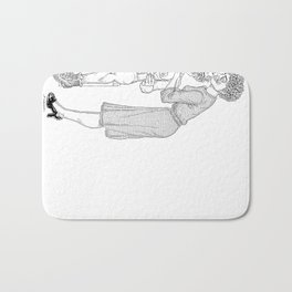 The Defamation of Normal Rockwell II (NSFW) Bath Mat