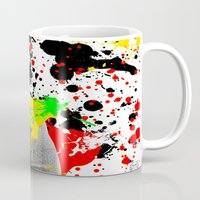 literature Mugs featuring Literature by Kerosene Bill