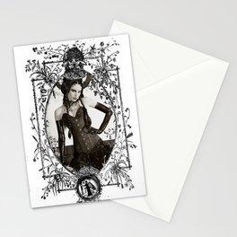 fetish b&w Stationery Cards