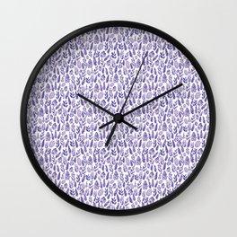 Lavender Little Wall Clock