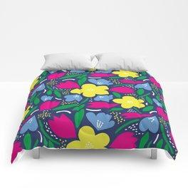 Floral Festival Comforters
