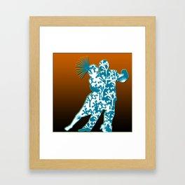 Joshua Tree Dancers by CREYES Framed Art Print