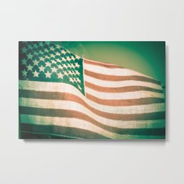 Happy Flag Day Metal Print