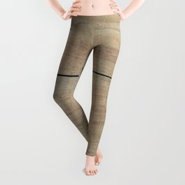 Lets Catch Cabin Fever Leggings