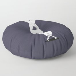 Keep everything crossed for you Floor Pillow