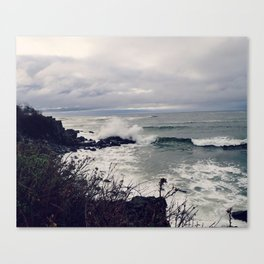 Rough Seas: Ocean Wave Canvas Print