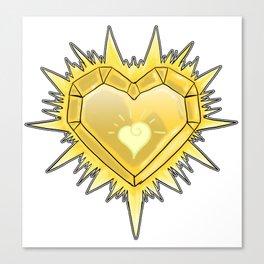 Heart of Light Canvas Print